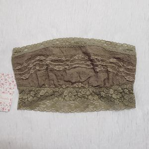 NWT Free People Taupe Bandeau XS
